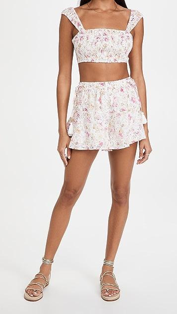 MINKPINK Cecile Prairie Shorts