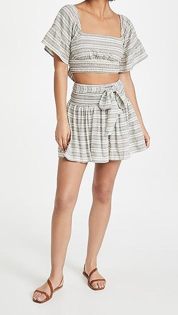 MINKPINK Tidal Miniskirt