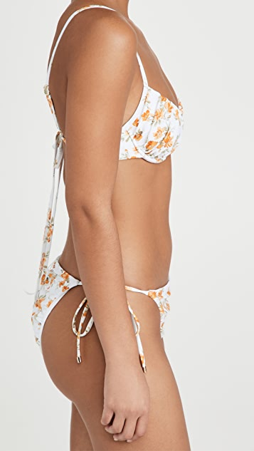 MINKPINK Emelie Underwire Bralette Bikini Top