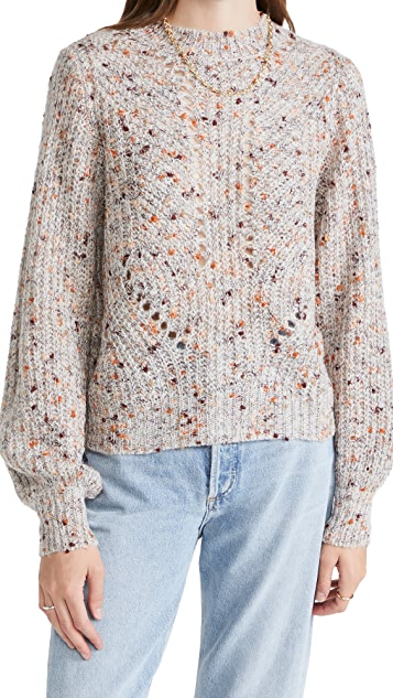 MINKPINK Aleppo Crew Neck Marle Sweater