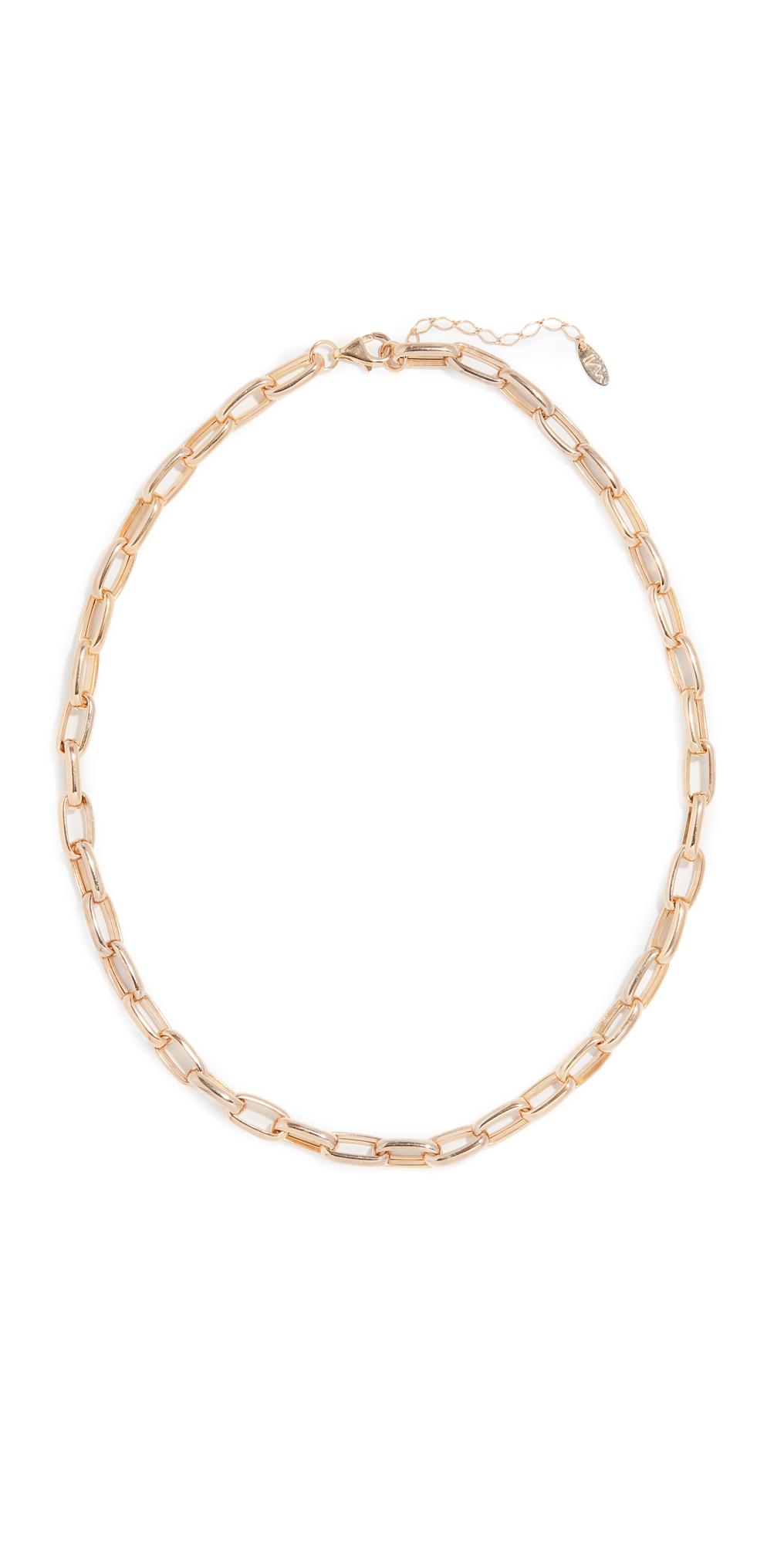 Chunky Chain Choker Necklace