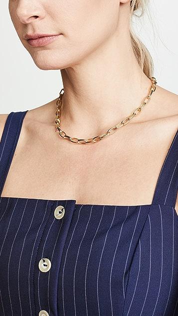 Maison Irem Chunky Chain Choker Necklace
