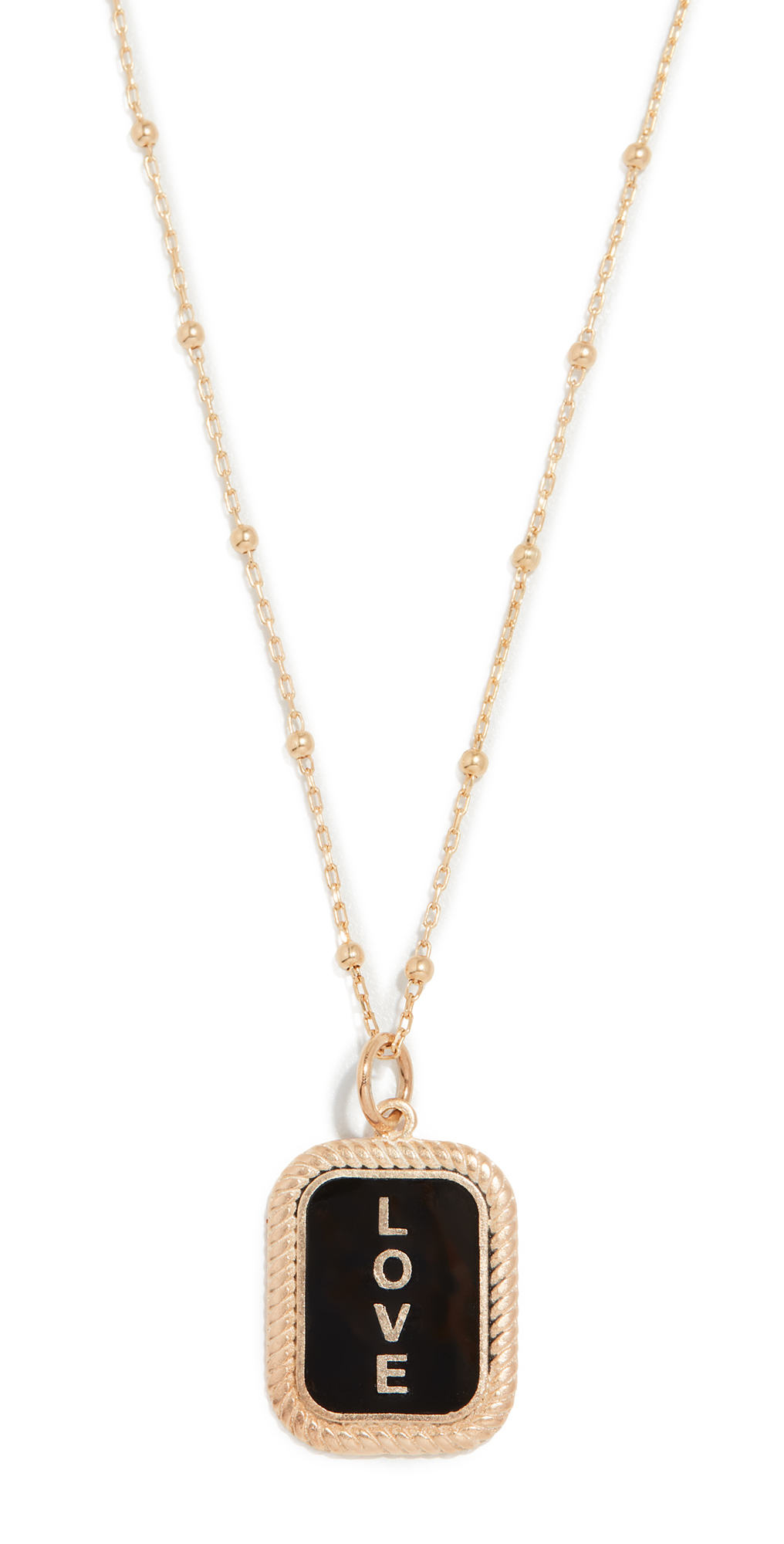 Love Tag Necklace