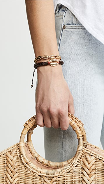 Maison Irem Saint Barth Shell Bracelet