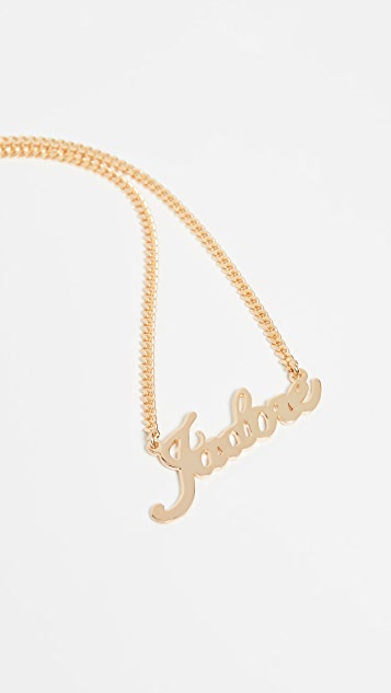 Maison Irem J'Adore Necklace