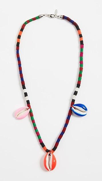 Maison Irem Pino Colored 单层项链