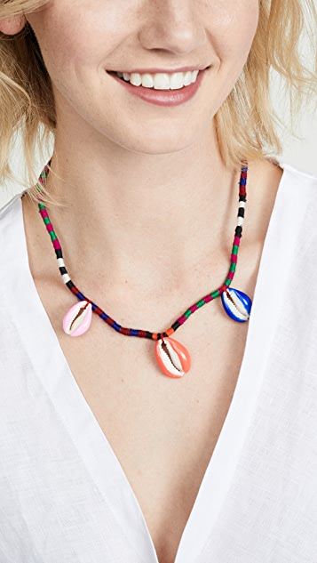 Maison Irem Pino Colored Single Necklace