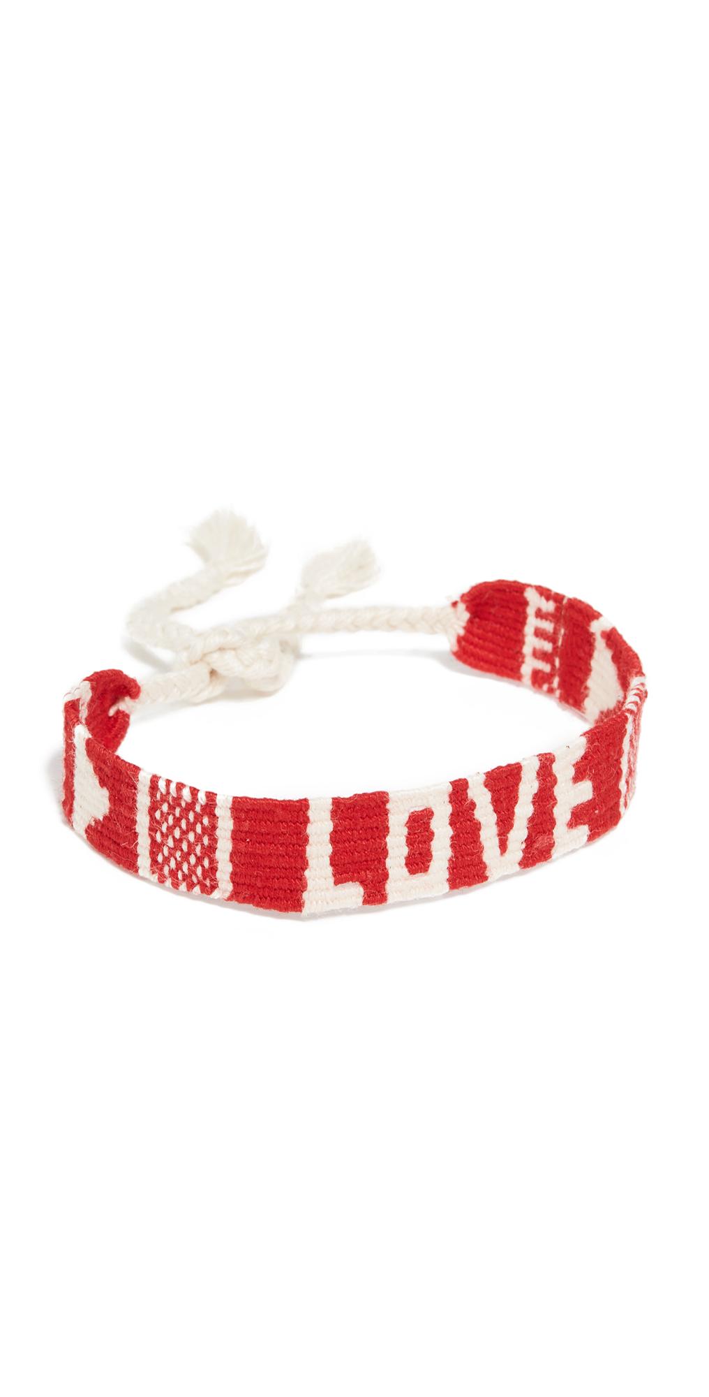 Mantra Woven Bracelet