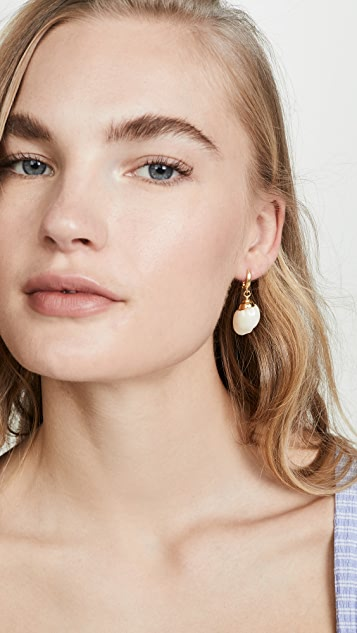 Maison Irem Small Conch Shell Earrings
