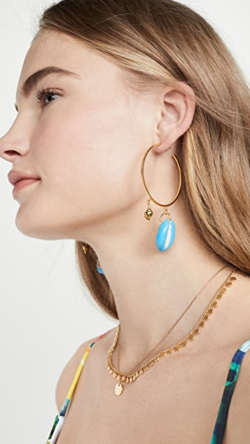 Maison Irem Pino Big Hoop Earrings