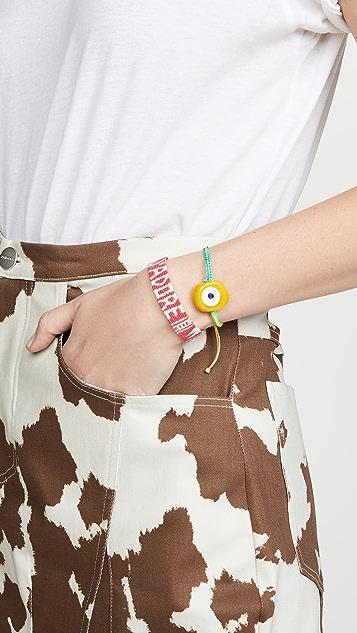 Maison Irem Mantra Woven Bracelet