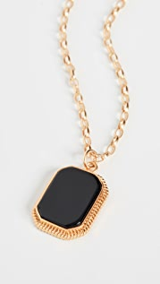 Maison Irem Onyx Long Necklace