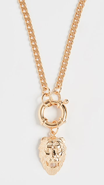 Maison Irem Necklace Chain with Lion