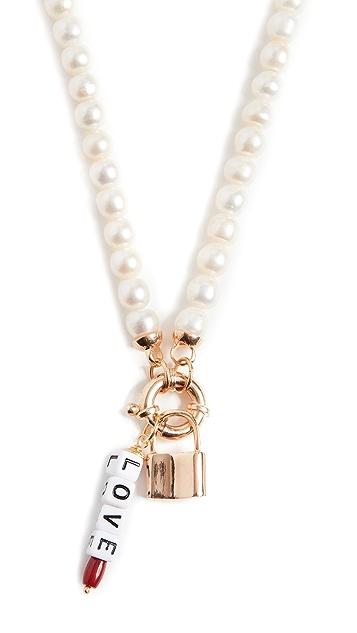 Maison Irem Freja 挂锁项链