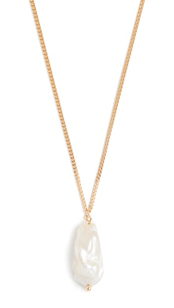 Maison Irem Pearl Swan Necklace