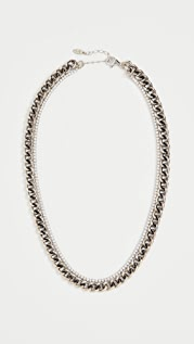 Maison Irem Double Layered Atomic Necklace
