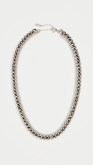 Maison Irem Double Layered Atomic Necklace