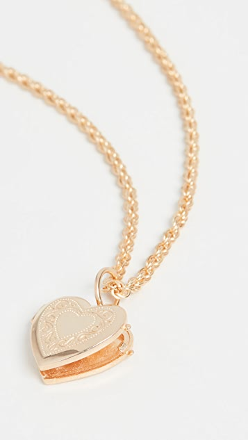 Maison Irem Heart Locket Darling Necklace