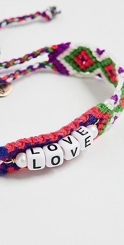 Maison Irem - Friendship Message Bracelet