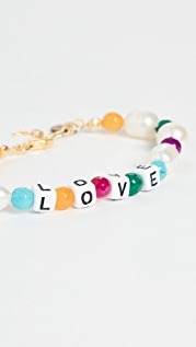 Maison Irem Rainbow Love Bracelet