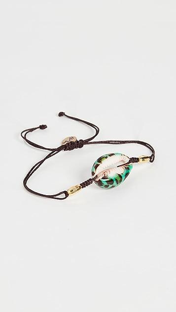 Maison Irem Leopard Enamel Bracelet