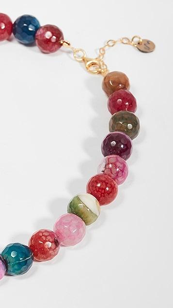 Maison Irem Necklace Chalcedony Candy