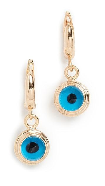Maison Irem Evil Eye Earrings