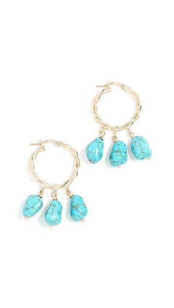Maison Irem Hang Loose Earrings