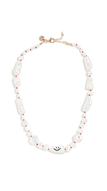 Maison Irem Funny 珍珠项链