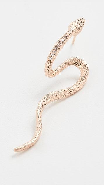 Maison Irem 蛇纹耳环