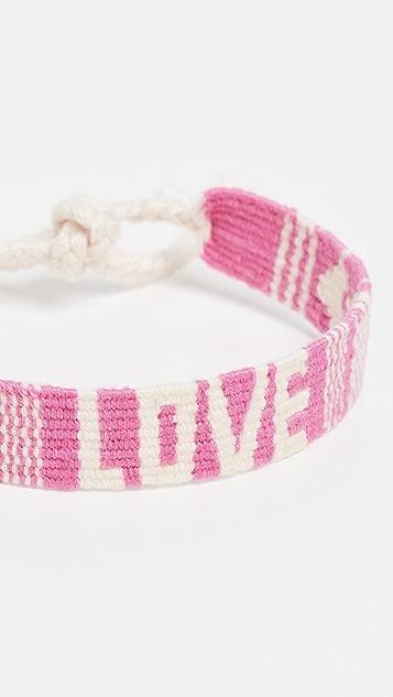 Maison Irem Love 字样饰物手链