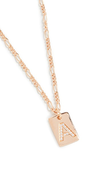Maison Irem Tilly Initial Necklace