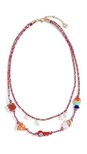 Maison Irem Cord Necklace Dream