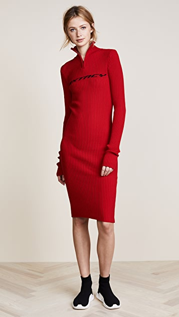 M I S B H V Extacy Half Zip Dress