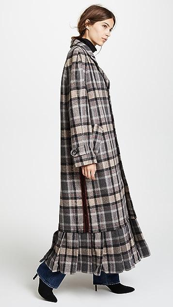 M I S B H V Extacy Tartan Coat