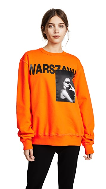 M I S B H V WARSZAWA Crew Neck Sweatshirt