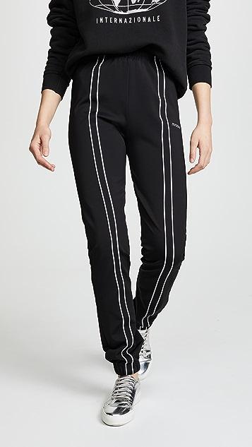 M I S B H V Aspen Tracksuit Trousers - Black/Grey