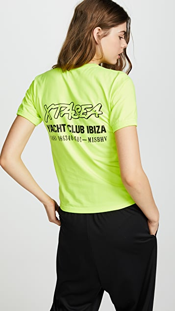 M I S B H V Ibiza Fitted Tee