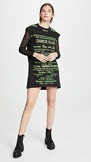 M I S B H V Dance Club Dress