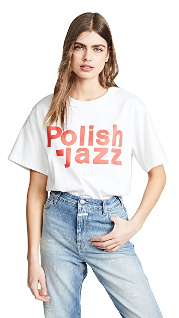 M I S B H V Polish Jazz T 恤