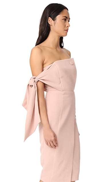 Misha Collection Romi Structured Midi Dress
