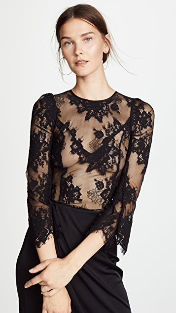 Gracie Lace Top by Misha Collection