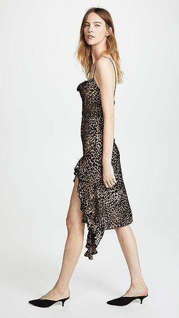 Misha Collection Emilia Leopard Dress