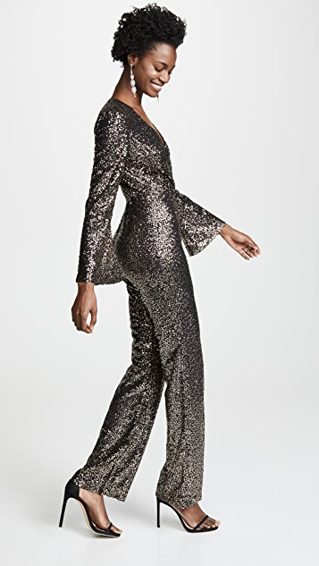 Misha Collection Sharnie Sequined Jumpsuit