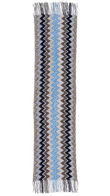 Missoni Zigzag Chenille Scarf