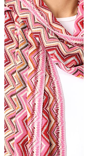 Missoni Metallic Zigzag Tunic