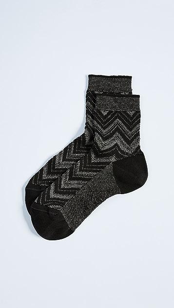 Missoni Chevron Ankle Socks