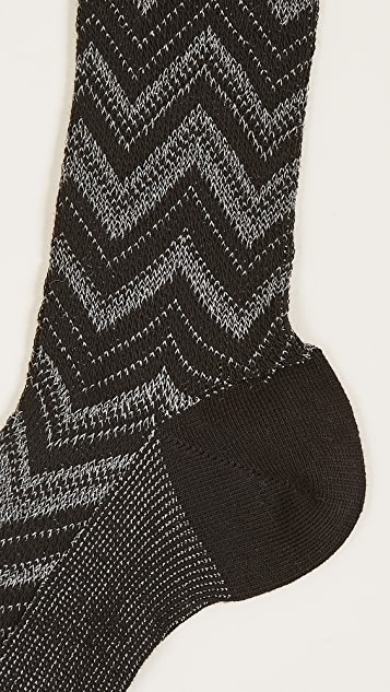 Missoni Knee High Socks Box of 3
