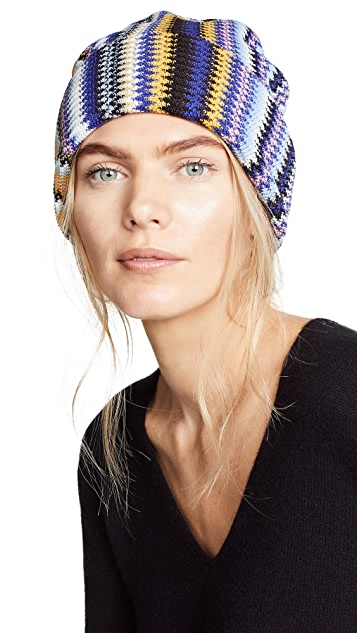 Missoni Vertical Zigzag Hat