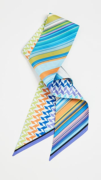 Missoni Silk Tie Headband